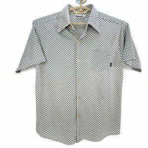 Billabong Vintage Button Front Shirt Made in USA